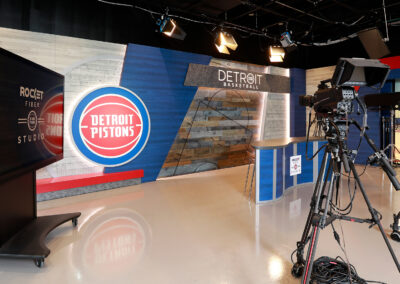 Detroit Pistons – Rocket Fiber Studio