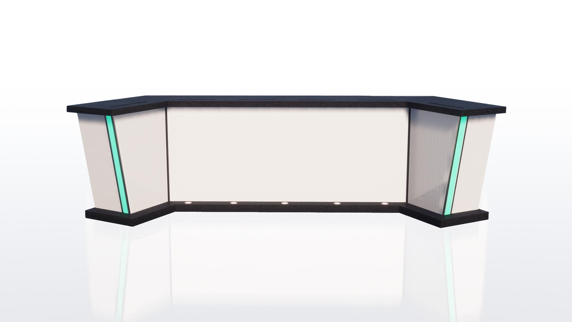 Versa Pro Modular Broadcast Desk